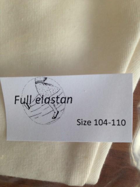 basislegging ecru full elastan van lidy