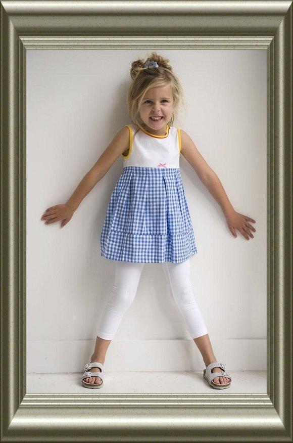 Legging meisje ECRU katoen van Lidy, geconfectioneerd (7/8)