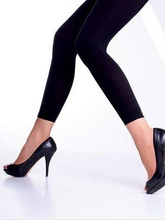 Legging donkerblauw dames seamless