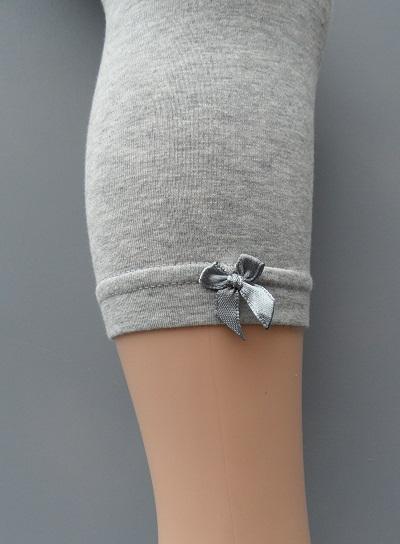 meisjes legging grijs geconfectioneerd