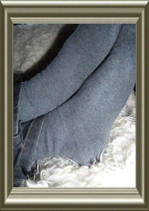 Jongens sokken uni jeanskleur van Ewers, TWEE-PAK