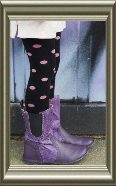 Maillot meisjes ZWART met roze stippen van Bonnie Doon