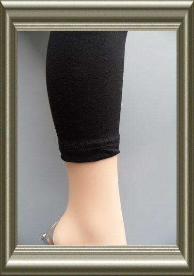 Legging meisjes ZWART katoen van YellowMoon