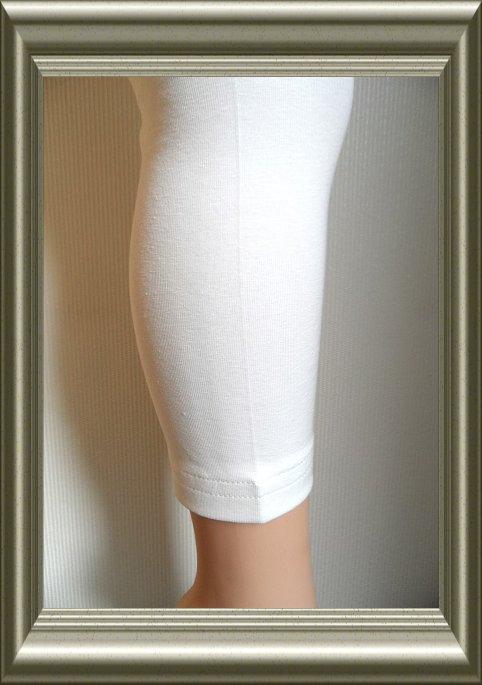Legging dames geconfectioneerd katoen ECRU van Lidy