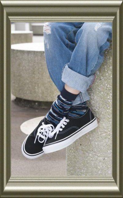 jongens sokken digital disorder van Bonnie Doon