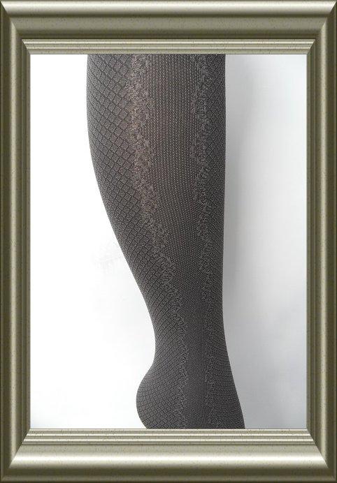 Panty (jonge) dames Imperial donkergrijs 50D