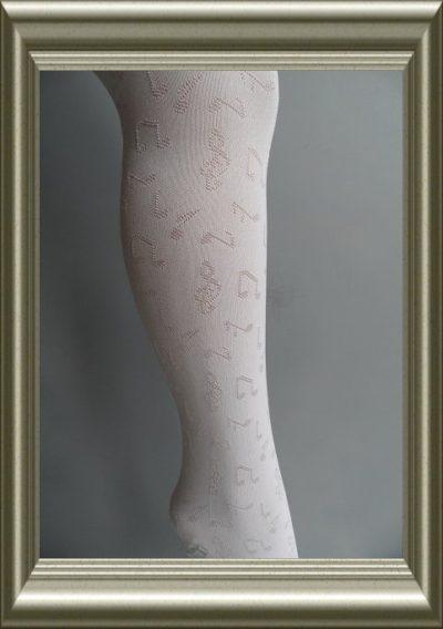 Kinderpanty wit met muzieknoten van NoQ