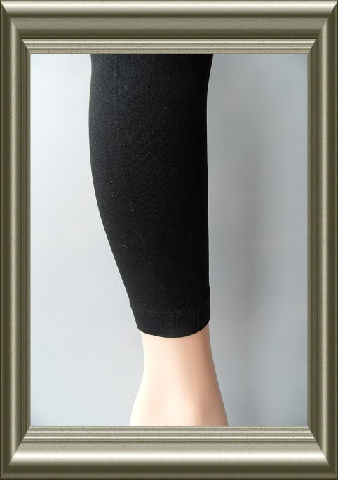 Legging dames zwart polyamide van Marianne