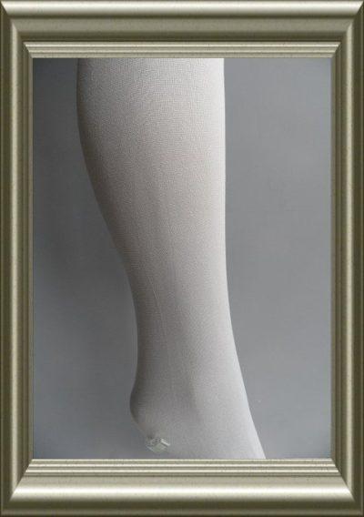 Kinderpanty uni lichtgrijs of zilvergrijs 60D