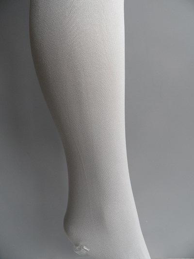 kinderpanty uni lichtgrijs zilverkleur