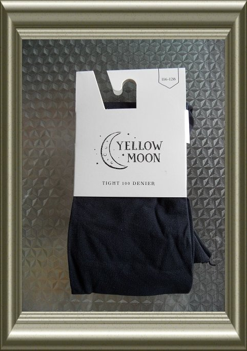 Kinderpanty donkerblauw 100 denier van Yellow Moon