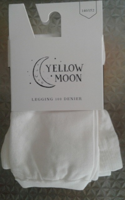pantylegging ecru van yellow moon