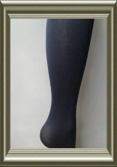Dames panty donkerblauw 60 denier