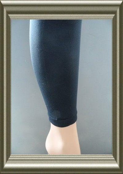 legging polyamide donkerblauw zonder naad 100d