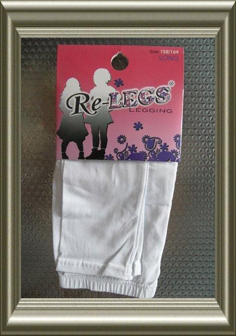 kinder legging wit van Re-legs